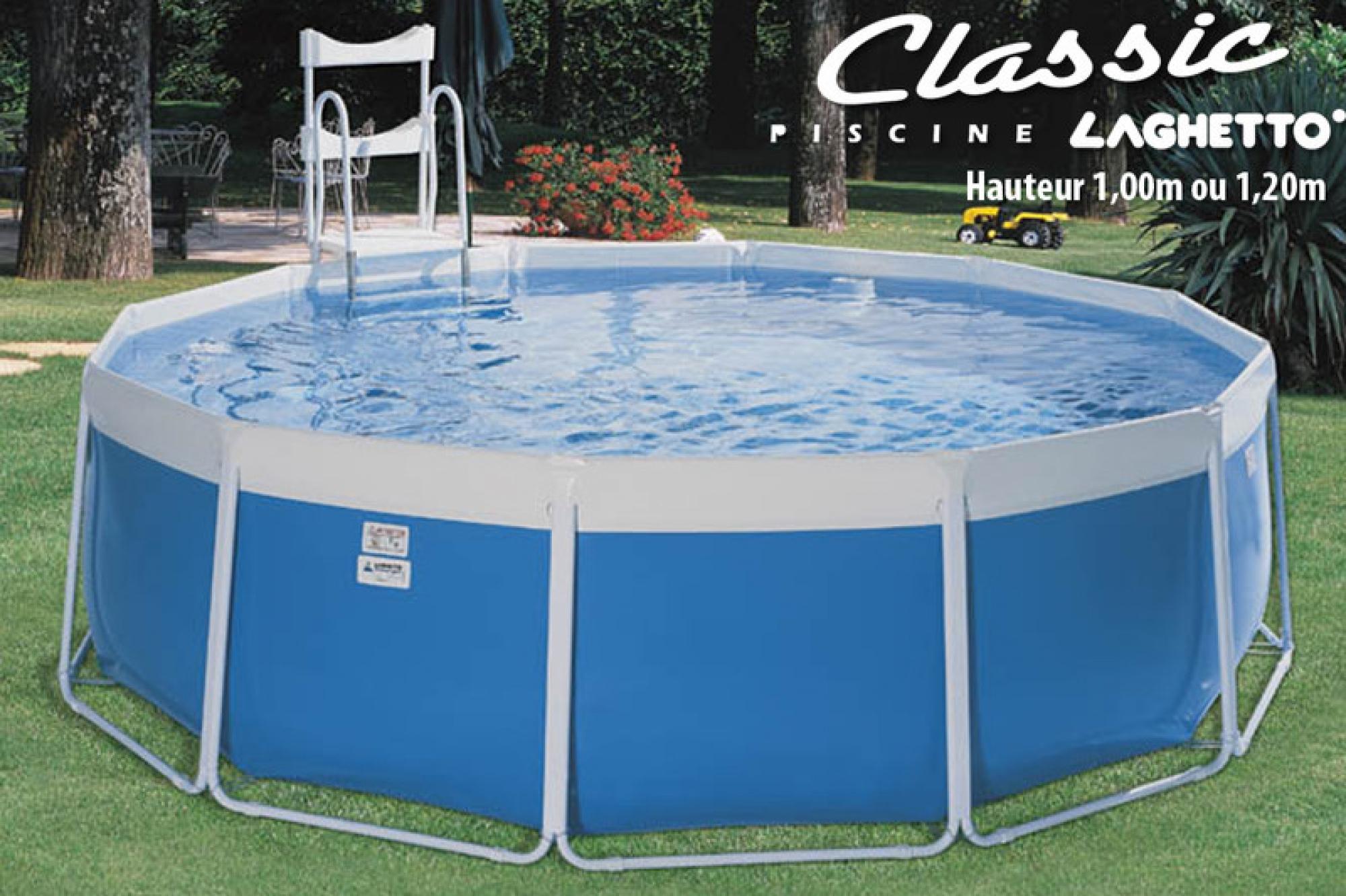 Voir Piscine Hors Sol piscine hors-sol classic laghetto, aquarev'piscines choisit